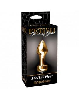 FETISH FANTASY GOLD MINI PLUG