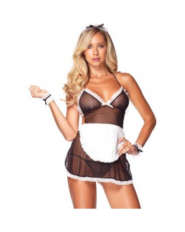 LEG AVENUE SET DE 4 PIEZAS DE FRENCH MAID