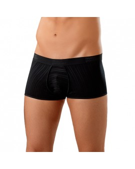 MALE POWER BOXER TEXTURADO REALZADOR NEGRO
