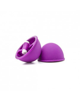 BONDANGE TOYS VIBRATING SUCTION CUP MORADO
