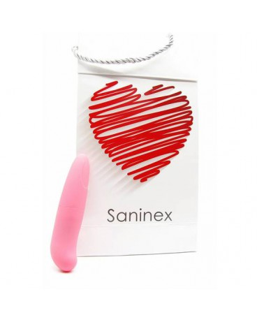 SANINEX MINI VIBRADOR MULTI EXCITING WOMAN COLOR ROSA