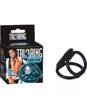 TRI RING COCK ARNES NEGRO