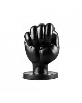 ALL BLACK FIST 13CM - NEGRO