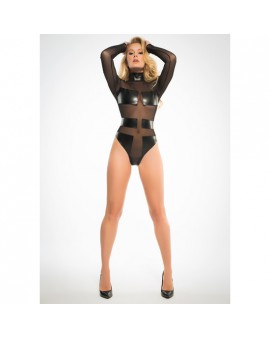 ALIXX SPECTACULAR & SLEEK BODY CON TRANSPARENCIAS