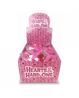 HEARTS AND HARD ONS DISPLAY OF 100