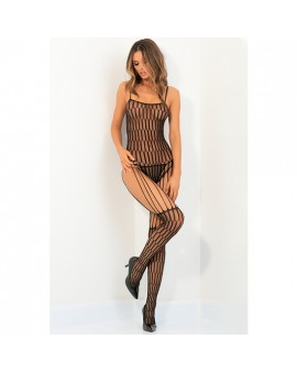 STRING ME UP BODY DE MALLA - NEGRO