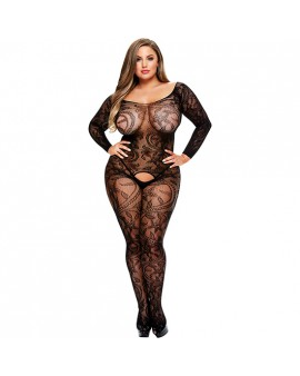 LONGSLEEVE CROTCHLESS BODYSTOCKING -MANGA LARGA