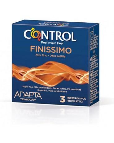 CONTROL PRESERVATIVOS FINISSIMO ORIGINAL 3 UDS