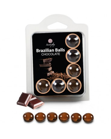 SET 6 BRAZILIAN BALLS CHOCOLATE