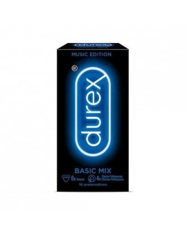 DUREX BASIC MIX 10 PRESERVATIVOS