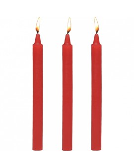 FIRE STICKS FETISH DRIP SET DE VELAS ROJA