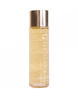 HIGH ON LOVE - ACEITE DE MASAJE DE FRESAS Y CHAMPAGNE - 120 ML