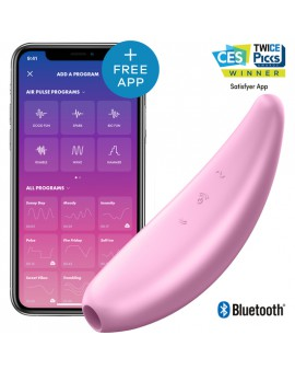 SATISFYER CURVY 3+ - ROSA