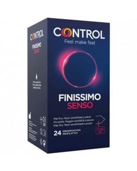 CONTROL PRESERVATIVOS FINISSIMO SENSO 24UDS