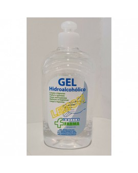 GEL HIDROALCOHÓLICO LEMON 500ML