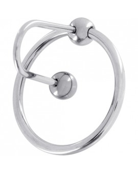 ANILLO SPERMSTOPPER ACERO - 30 MM - PLATA