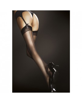 MARLENA STOCKINGS MEDIAS ACABADO MATE 20 DEN - NEGRO