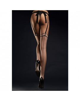 MADAME STOCKINGS MEDIAS CON COSTURAS 20 DEN - NEGRO