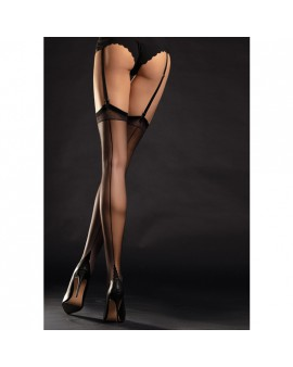DIVA STOCKINGS MEDIA TACON FRANCES 20 DEN - NEGRO