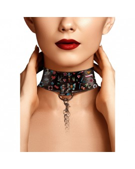 COLLAR ESTILO TATTOO NEGRO