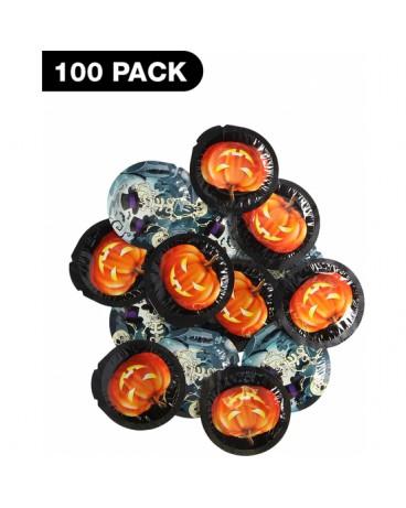 PRESERVATIVO HALLOWEEN EXS 100 PACK