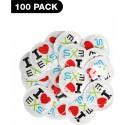 PRESERVATIVOS I LOVE EXS - 100 PACK