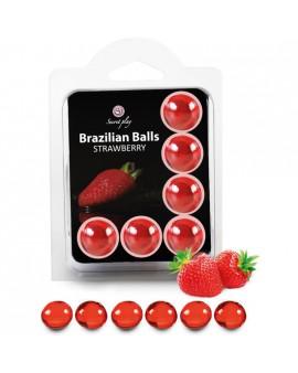 SECRET PLAY SET 6 BRAZILIAN BALLS AROMA FRESA