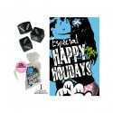 PACK BOLSA ORGANZA HAPPY HOLIDAYS