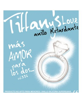 ANILLO RETARDANTE DIAMANTE LOVE UNID BLANCO
