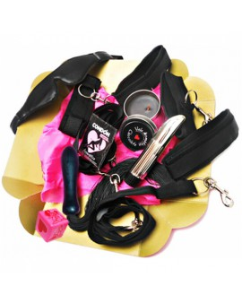 KIT EROTICO BONDAGE LOVERS CAJA ROSA