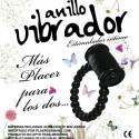 ANILLO VIBRADOR ESTIMULADOR 1 UNIDAD - COLORES SURTIDOS
