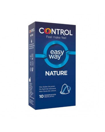 CONTROL PRESERVATIVOS NEW NATURE EASY WAY 10UDS