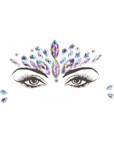 LE DESIR ADHESIVOS BRILLANTES DAZZLING CROWNED FACE BLING