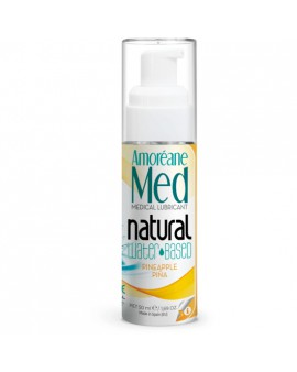 AMOREANE MEDICAL LUBRICANTE BASE AGUA CON FITOPLANCTON 50ML PINA