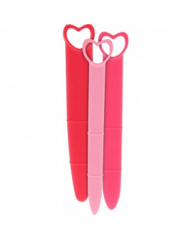 SILICONE VAGINAL DILATORS PINK