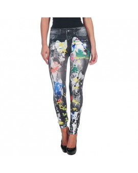 LEGGING PAINTED MULTICOLOR