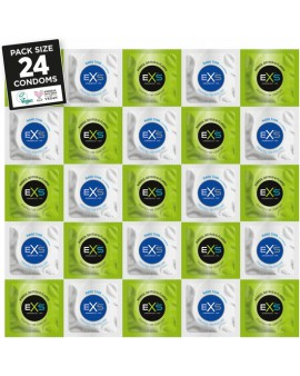EXS PRESERVATIVOS SENSATION PACK 24 CONDONES
