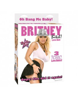 BRITNEY BITCH MUNECA HINCHABLE