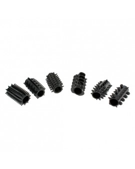 POWER PENIS SLEEVE SET NEGRO 6PCS
