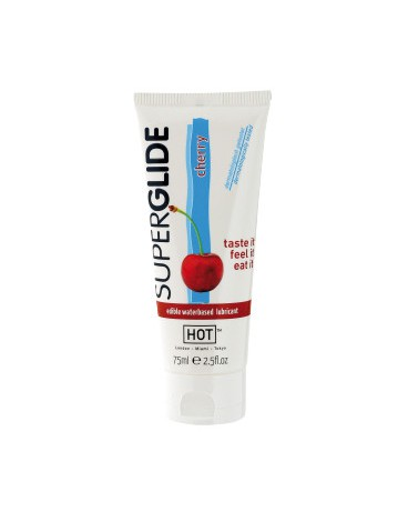 HOT SUPERGLIDE LUBRICANTE COMESTIBLE CEREZA