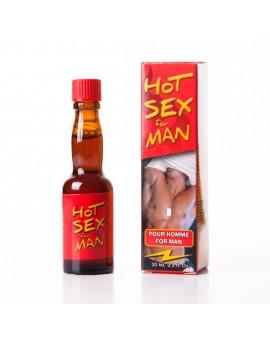 HOT SEX AFRODISIACO PARA EL HOMBRE