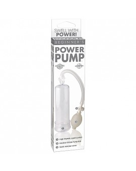 BEGINNERS POWER PUMP CLEAR BLANCO