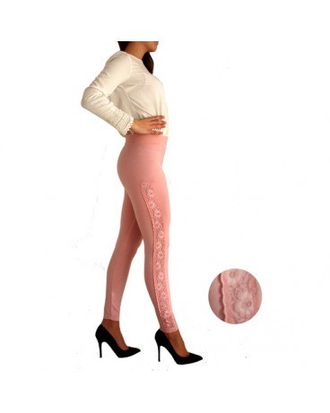 LEGGINGS BLONDA CERDENA ROSA