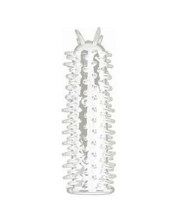 SPIKY FUNDA PENE TRANSPARENTE