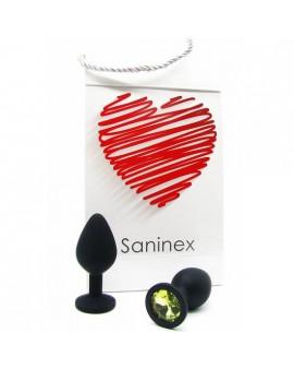 SANINEX PLUG INTENSE ORGASMIC ANAL SEX COLOR NEGRO