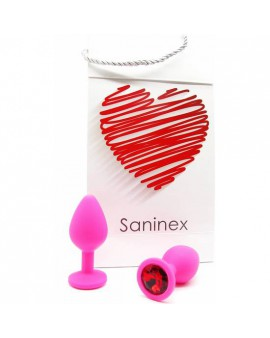 SANINEX PLUG INTENSE ORGASMIC ANAL SEX COLOR ROSA