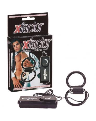 X FACTOR DOBLE ANILLO VIBRADOR