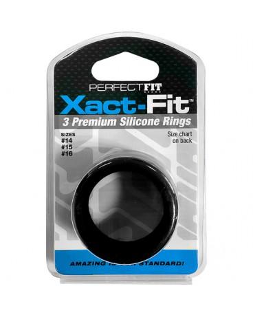 XACT FIT KIT 3 ANILLOS DE SILICONA 35 CM 38 CM Y 4 CM