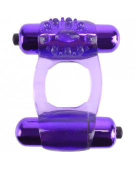 FANTASY C RING DUO VIBR SUPER RING MORADO