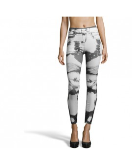 INTIMAX LEGGINS DIBUJADO WHITE